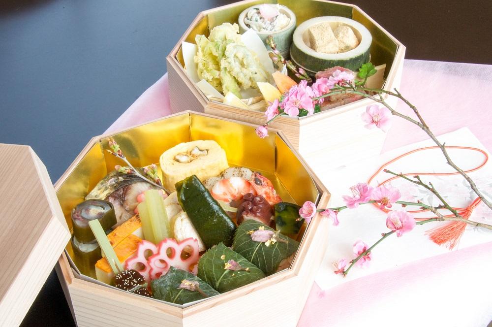 尾道の桜を愛でながらいただく、ベラビスタ境ガ浜・春爛漫特製「お花見弁当」ご予約受付中