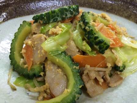 沖縄定番家庭の味ゴーヤチャンプル