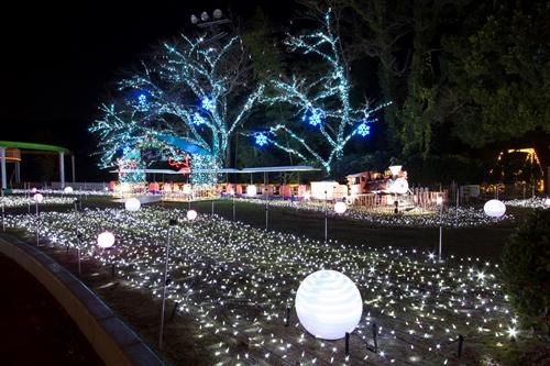 冬の大イベントみろくの里イルミネーション入場券が付いたお得な宴会プラン!!