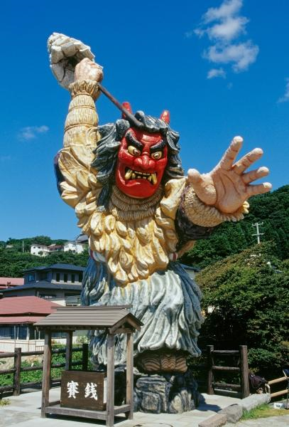 """昭和の湯に""""なまはげ""""がやってくる!!※不定期開催 悪い子はいねが~!!"""