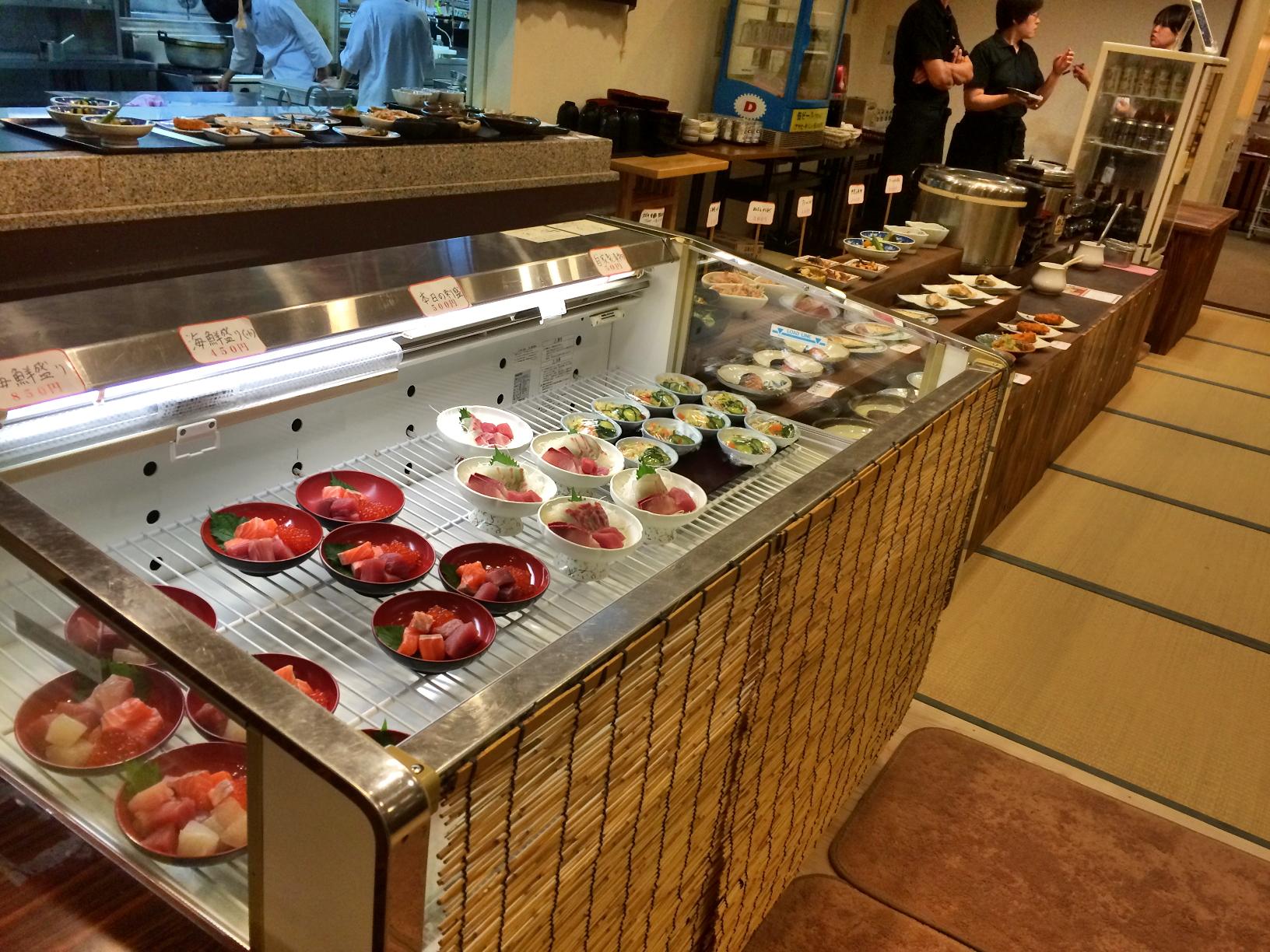 瀬戸内の鮮魚を堪能できるお食事処「魚千食堂」オープン!神勝寺温泉 昭和の湯