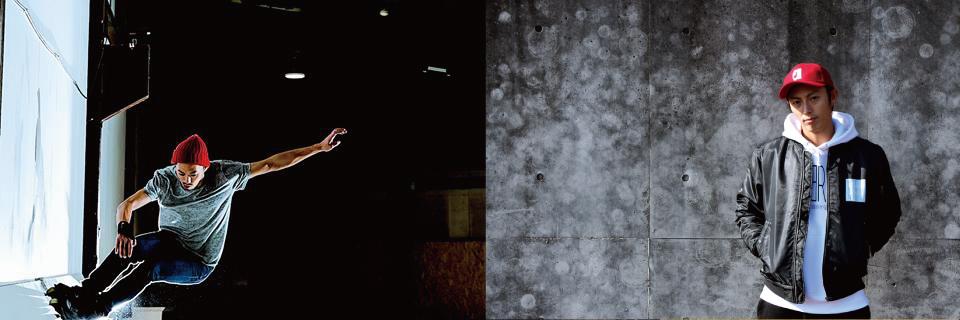 IN-LINE SKATEのトッププレイヤーも終結。伊藤千秋(写真左)・金島総一郎(写真右)