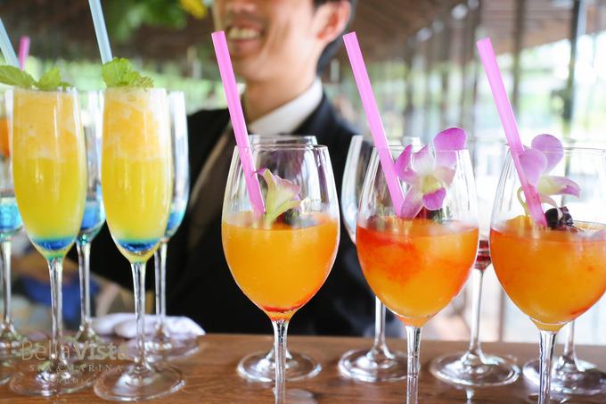 柑橘ジュースが爽やかにお出迎え(イメージ)